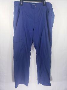 NEWT Women's Travel Smith Pants Size 18 Blue Convertible to Capris
