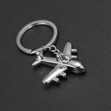 Mini Air Plane Flugzeug Schlüsselhänger Metall Keychain Anhänger Schlüsselring