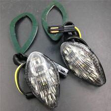 Clear LED Flush Mount Turn signal lights For Honda CBR 919 600 F3/F4 600RR