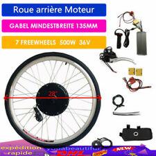 """28"""" 36V 500W Kit de conversion Roue arrière Moteur E-bike Vélo Électrique DHL"""