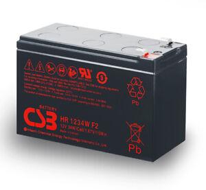 HITACHI CSB 12V 9AH SLA AGM High Rate Battery 12V 7ah/7.2ah For NBN Broadband