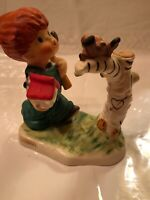"Collectable GOEBEL REDHEAD CHARLOT ""Springtime"" Figurine, Byj10,4.25""pre Owned"