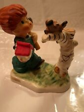 "Collectable Goebel Redhead Charlot ""Springtime"" Figurine, Byj10,4.25�pre Owned"