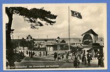AK Echte Foto Deutschland Heringsdorf. gelaufen 1941 Mit Briefmarke 1933