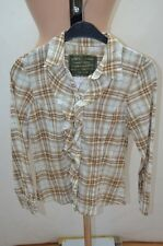 ZARA CHEMISIER .  BEIGE TAILLE 34 T34 XS    SHIRT CAMISA BLUSE BLOUSE