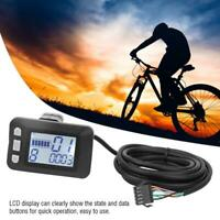 24V/36V/48V E-Bike LCD Display Panel Electric Bicycle Brushless Controller Kit