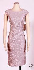 RALPH LAUREN Sheer Pink Sz 14 Women's Cocktail Sheath Dress $169 New