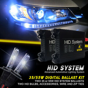 GE Xenon 35W 55W Slim HID Kit for Ford F-350 Super Duty F-450 Year 1997 to 2017