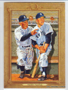 Mickey Mantle, 2007 Topps Turkey Red Card #19, New York Yankees