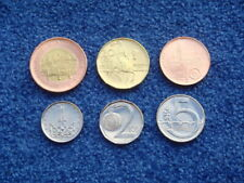 Czech, Republic, 2019, Full coin Set, 1 2 5 10 20 50 Koruna, UNC, New