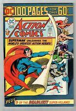 ACTION COMICS #443 (VF/NM) SUPERMAN! 100 Page Giant! JLA App! DC 1975 High Grade