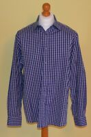 MENS AUTHENTIC BUGATCHI LONG SLEEVED  SHIRT.SIZE XL.