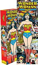 Wonder Woman Retro slim 1000 piece jigsaw puzzle  (nm)
