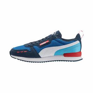 Men's Puma R78 Palace Blue/Dark Denim-White (373117 06)