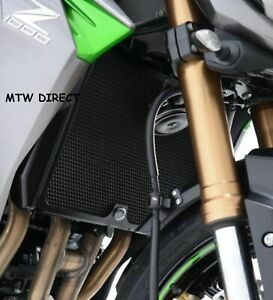 R&G RACING BLACK RADIATOR STONE  GUARD FOR Kawasaki Z800 2015-2016