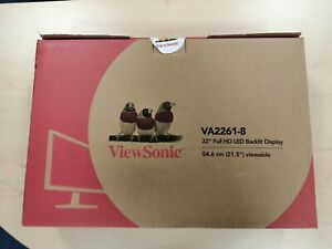 Brand New - Viewsonic VA2261-2 Full 1080p HD, LED 22'' Monitor