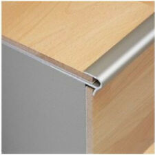 Dural StepFloor Silver Stair Nosing Step Edge Nose Trim Edging - 8mm Laminate