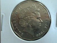 AUSTRALIAN 50 CENT 2000 - VERY FINE CIRCULATED