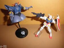 GUNDAM bandai candy TOY mini figure set GUNDAM vs Zion ZEONG mobile suit
