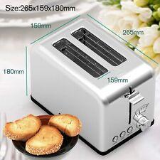 Onson 2 Slice Toaster Stainless Steel Wt-8110