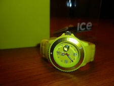 Sommeruhr Ice-Watch mit Datum und Silikonband ganz selten getragen