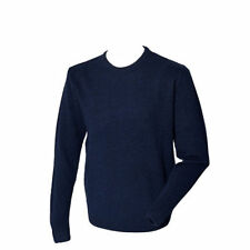 Lambswool Crew Neck Long Jumpers & Cardigans for Men