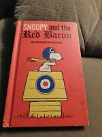SNOOPY AND THE RED BARON 1966 CHARLES M. SCHULZ WEEKLY READER CHILDREN'S BOOK