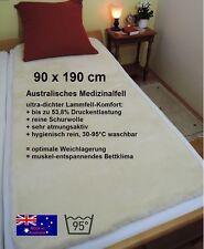 Allergikergeeignete Matratzenschoner & -auflagen aus 100% Wolle