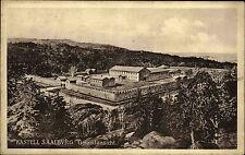 Kastell Saalburg Hessen Taunus AK ~1920/30 Gesamtansicht mit Umgebung Burganlage