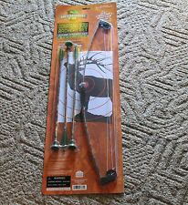 "NEW KIDS 27"" TOY FIBERGLASS COMPOUND BOW AND ARROW"