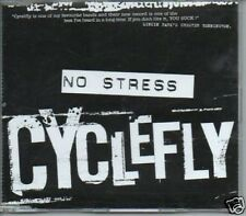 (243T) Cyclefly, No Stress - DJ CD