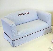 Kids Sofa w/ Boxed Skirt