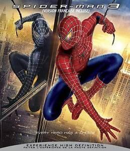 Spider-Man 3 (Blu-ray Disc, 2007, Canadian)