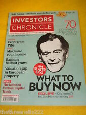 INVESTORS CHRONICLE - JIM SLATER SAYS - MARCH 13 2009
