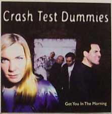 CRASH TEST DUMMIES Get You in Morning PROMO CD Single