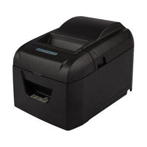 Metapace T-25 Thermodirekt-Kassendrucker, USB, RS232, Cutter, Schwarz