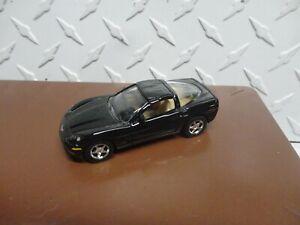 Loose Matchbox Black Chevrolet C6 Corvette