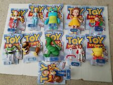 Toy Story 4 Disney Pixar Posable Figures lot of 11 Rex,Bo,Ducky,gabby& more New