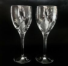 Waterford Crystal 24.5cm 'SIREN' Red Wine Glasses x 2 - Discontinued  (A)