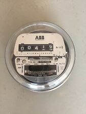 ABB ELECTRIC WATTHOUR METER KWH, FORM 2S, 200CL, 240v,