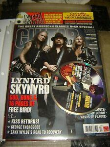 GUITAR WORLD MAGAZINE VOL.30/NO.13 Holiday 2009 with Lynard Skynyrd CD