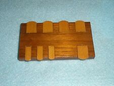 "Vintage Mahogany & Satinwood ""PALL MALL"" WHIST MARKER - Card Game - Working"