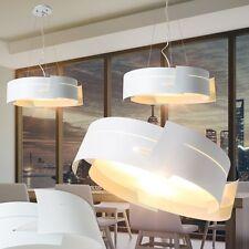 Lampe à suspension Design Lustre Lampe pendante Verre blanc Plafonnier 150550
