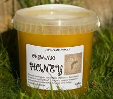 100 PERCENT  PURE RAW ORGANIC HONEY 1.5kg  UNFILTERED  UNHEATED