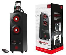 Psyc Torre 2.1 Bluetooth Wireless Tower Bass Speaker Phone Stand Premium SD USB