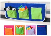 Thuka Stoff Hängetasche Organizer Aufbewahrung für Kinderbett Hochbett Bett pink
