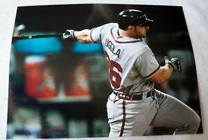 Atlanta Braves Dan Uggla Signed 11x14  Photo Auto