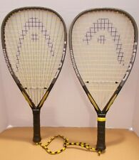 Pair of Head Intelligence i.165 Racquetball Racquets 3 5/8 - NEW OVERGRIPS