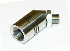 Innovate Motorsports 3835 Motorcycle Exhaust Bung Adapter 12mm to 18mm O2 Wideba
