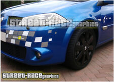 Renault Megane F1 Team Stickers Calcomanías Gráficos MK3 Completo